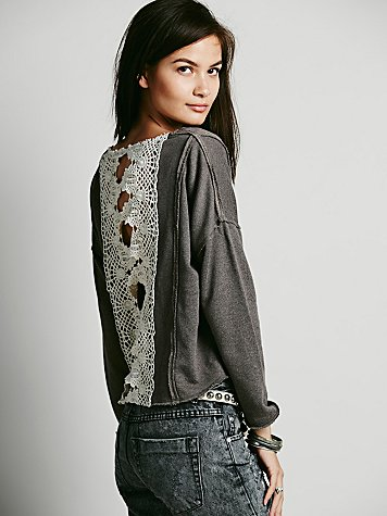 Victorian Lace Pullover