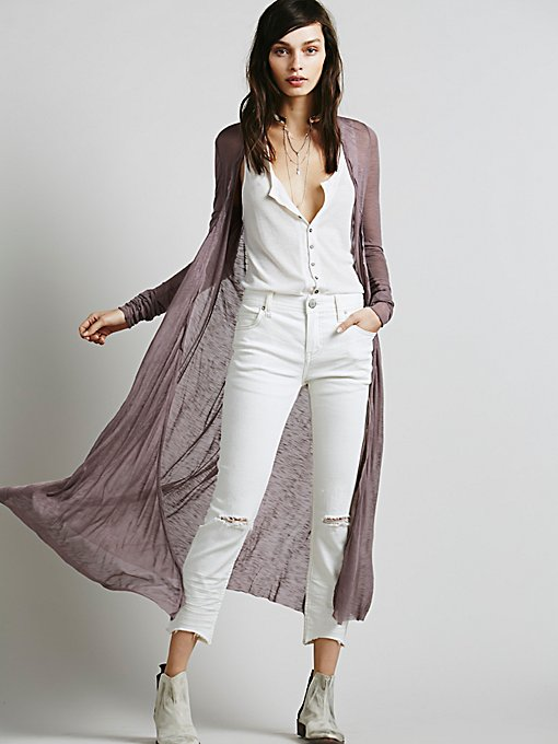 Long Lean Cardigan