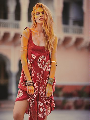 Desert Winds Printed Dress