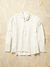 Vintage 1930s Embroidered Blouse