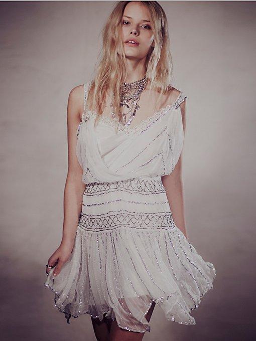 Ode To Tea Shimmer Dress