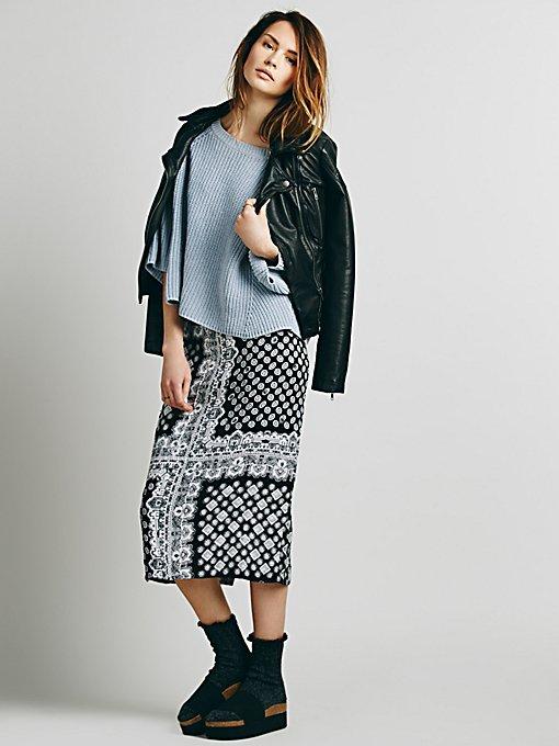 Lax Print Skirt