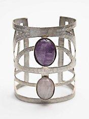 Caged Stone Cuff