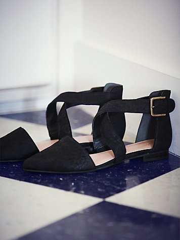 Faryl Robin + Free People Lietta II Flat at Free People Clothing Boutique