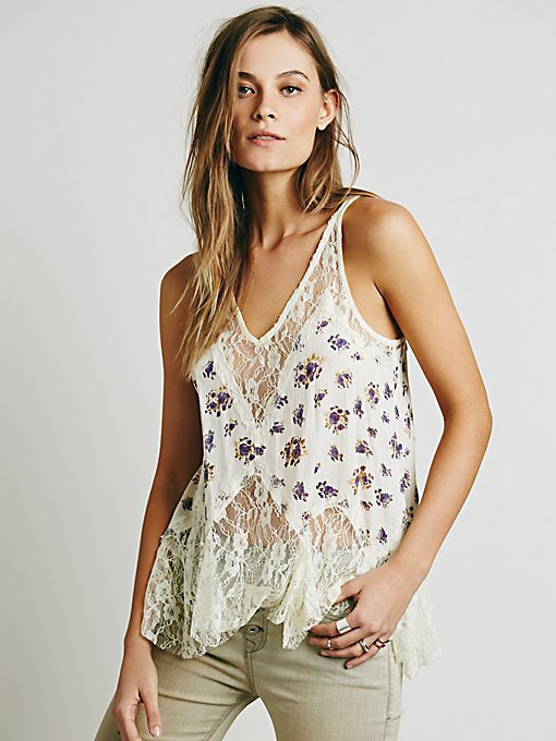 Bell Trapeze Cami Print