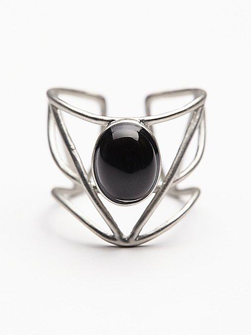 Caged Cuff Ring