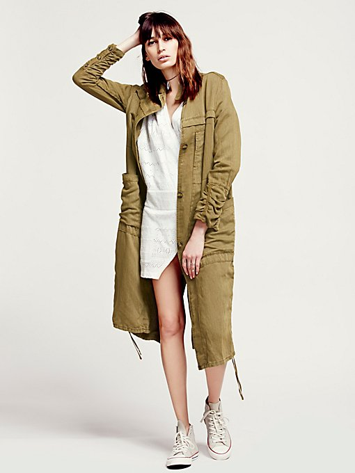 Textured Duster