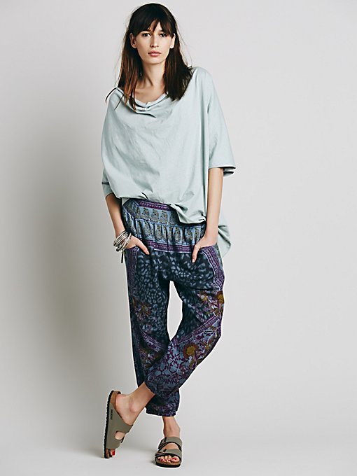 All In Place Smocked Pant