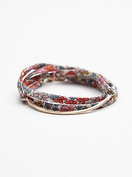 Vintage Fabric Bracelet