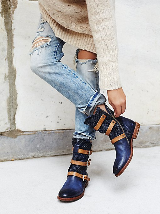 Topanga Buckle Boot