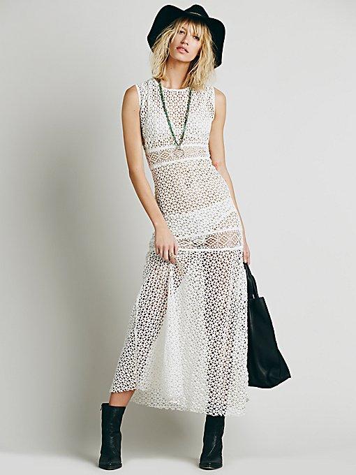 Annina Crochet Dress