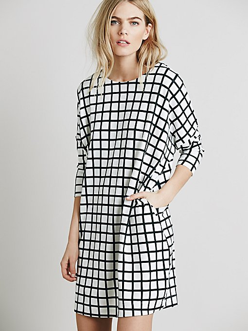 Hannah Printed Knit Dress