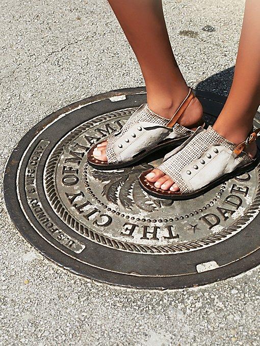 Amaretto Distressed Sandal