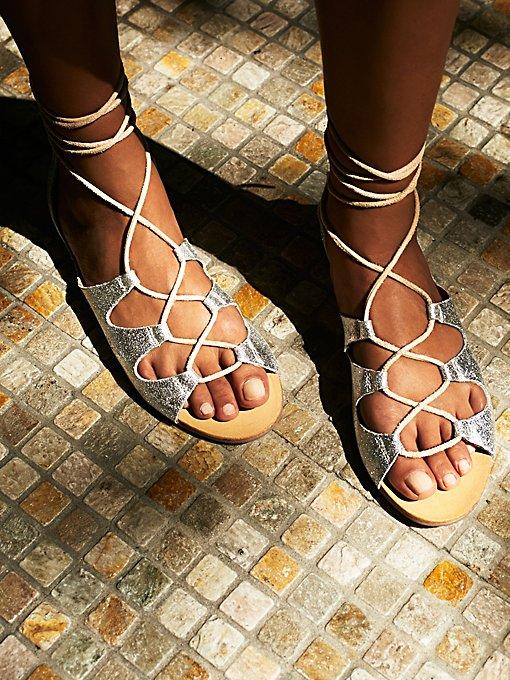 Marrakesh Lace Up Sandal