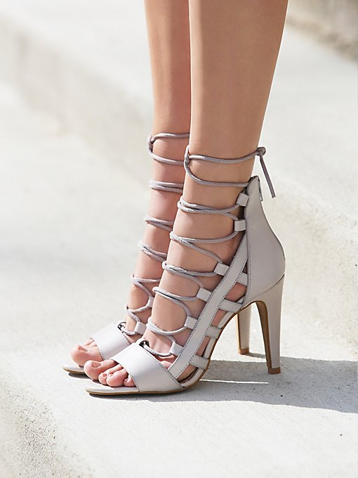 Dusk To Dawn Lace Up Heel