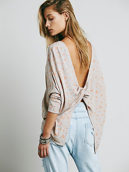 Simply Moon Print Top