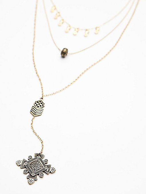 Stardust Tiered Necklace