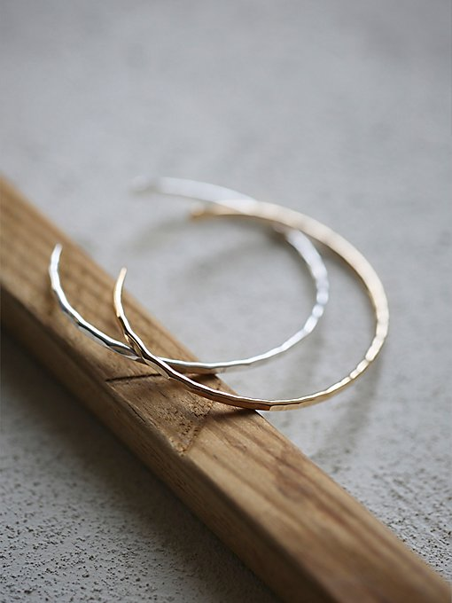 Hammered Open Cuff Duo