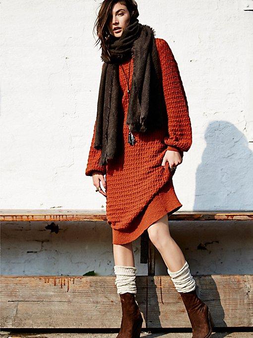 Sunshine Sweaterdress