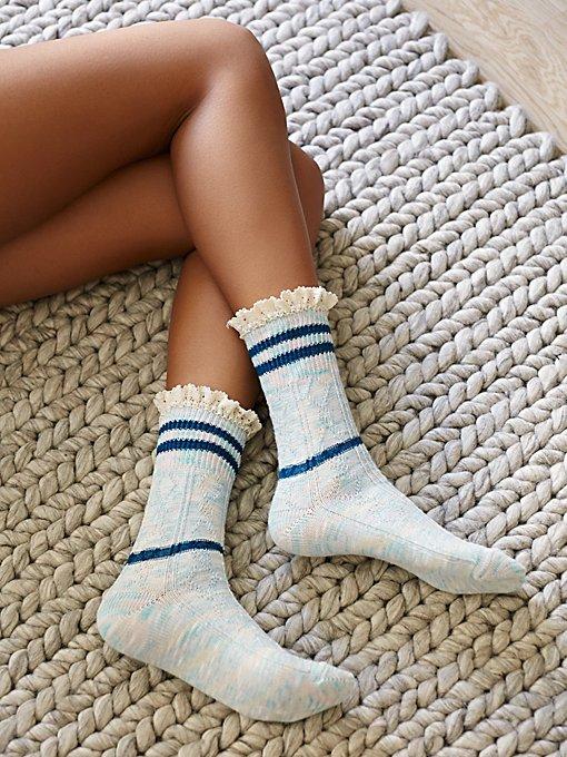 Laweson Ruffle Boot Sock