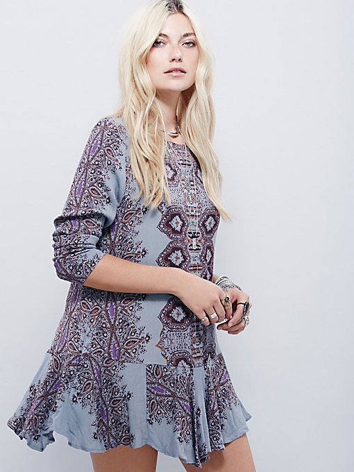 Smooth Talker Printed Tunic
