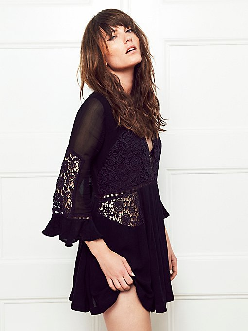 Wildest Dreams Lace Tunic