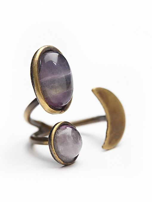 Orbit Stone Ring