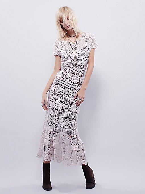 Fairytale Crochet Dress