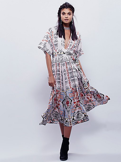 Wild Mountain Kimono Dress