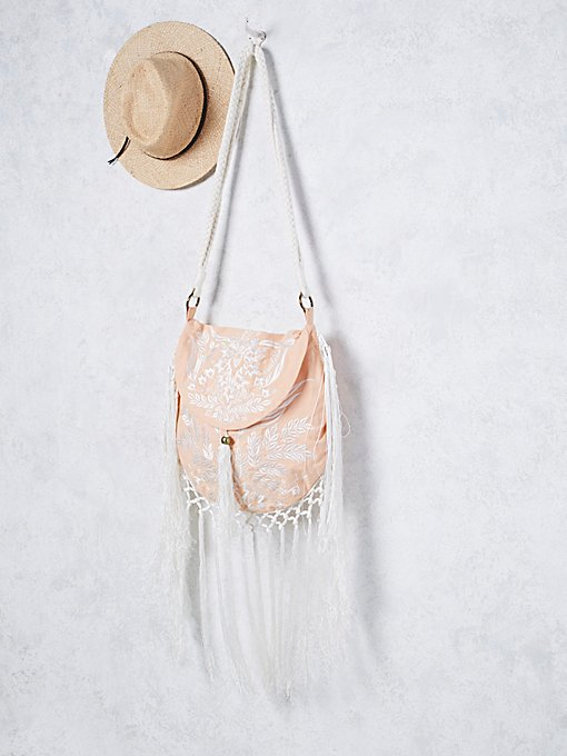 Aloha Fox Embroidered Bag