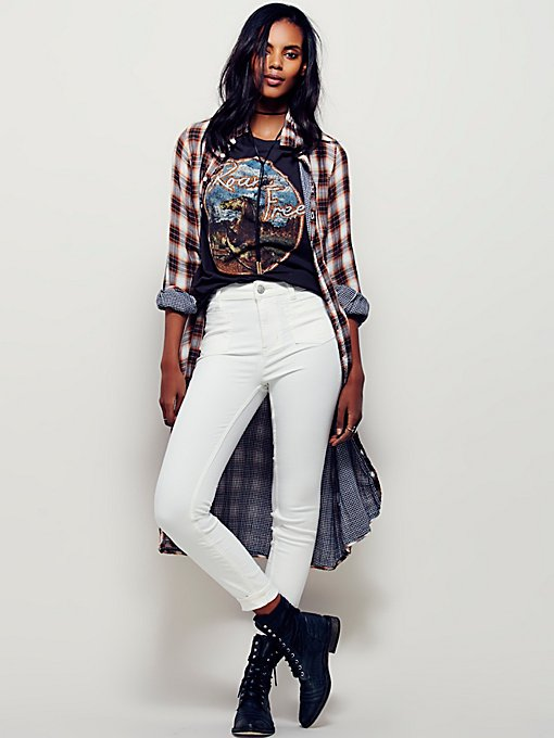Beverely High Rise Skinny