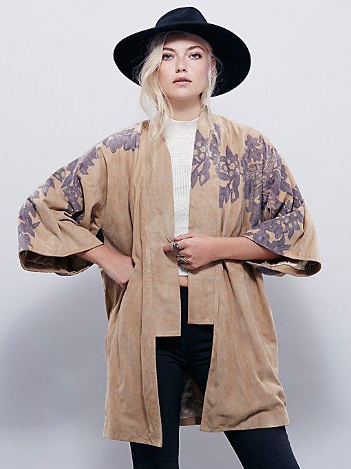 New Romantics Kyoto Floral Kimono