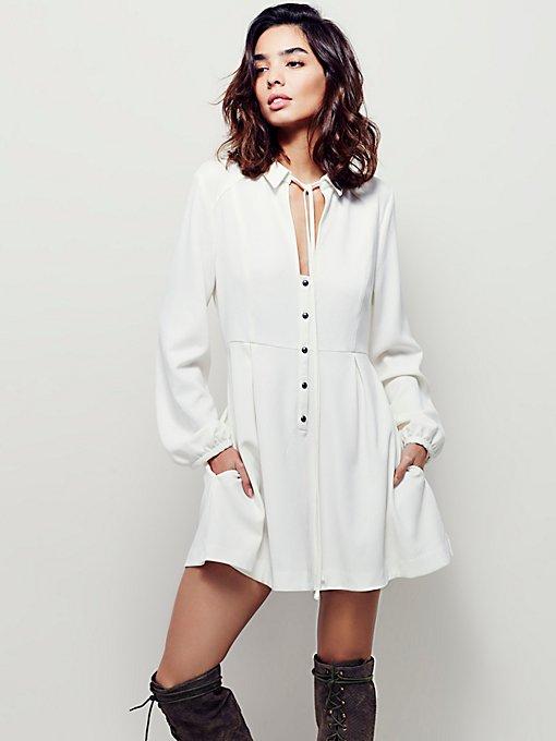 Daylight Mini Shirt Dress