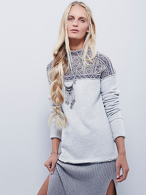 Snow Bunny Pullover