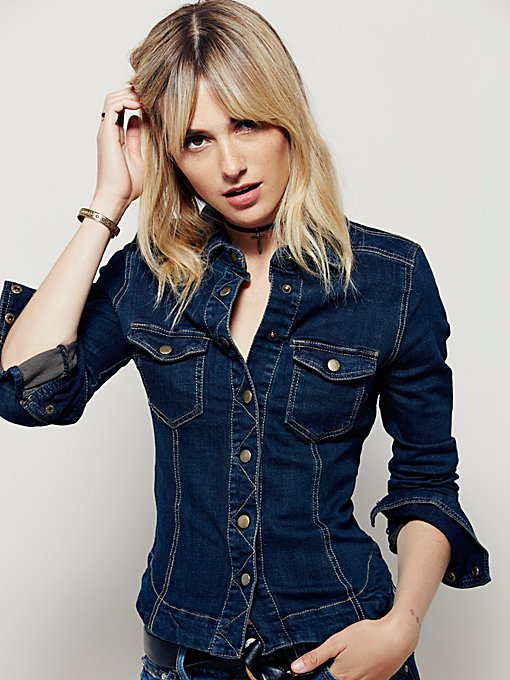 Rogue Slim Denim Shirt