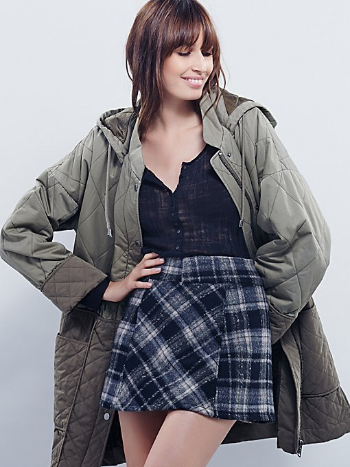 Zip It Plaid Mini