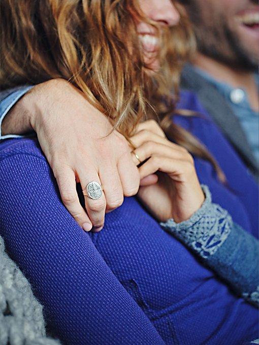 Ruskin Signet Ring