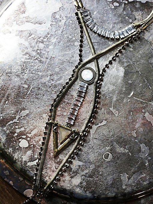 Northern Lights Ladder Necklace