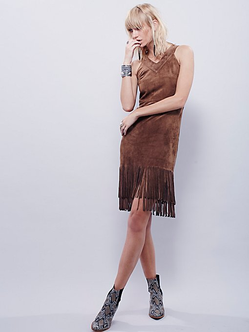 Fringe Lace Dress
