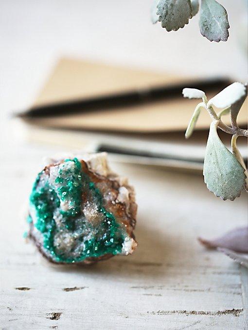 Vintage Dioptase Crystal
