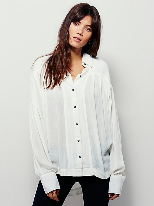 Sunny Side Buttondown Top