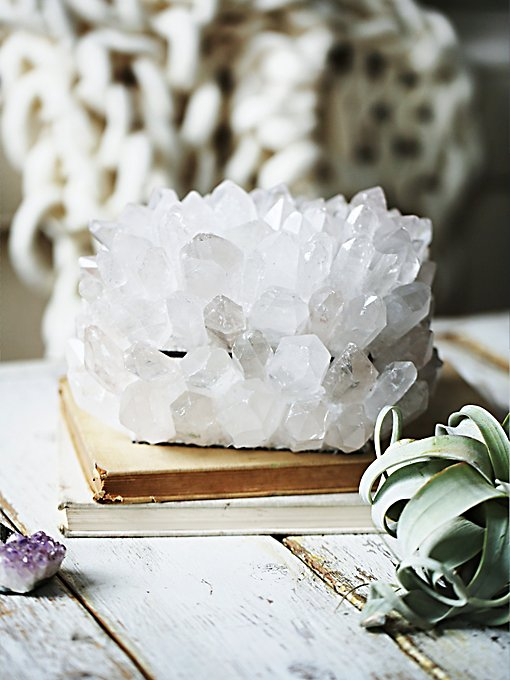 Quartz Crystal Jewelry Box