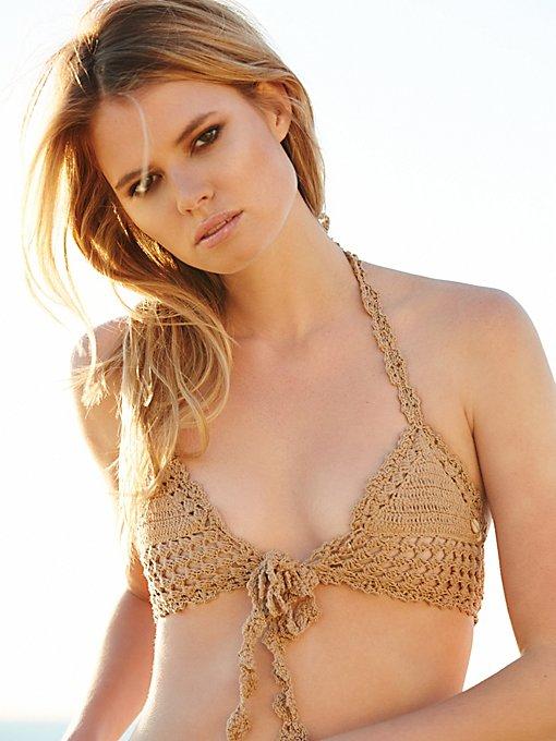 Hira Tie Front Bikini Top