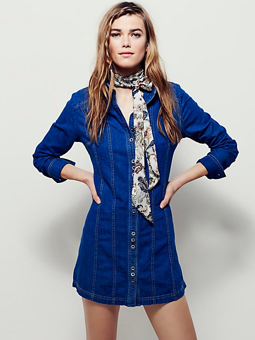 Little Star Denim Tunic