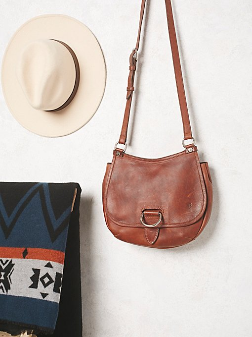 Amy Leather Saddle Bag