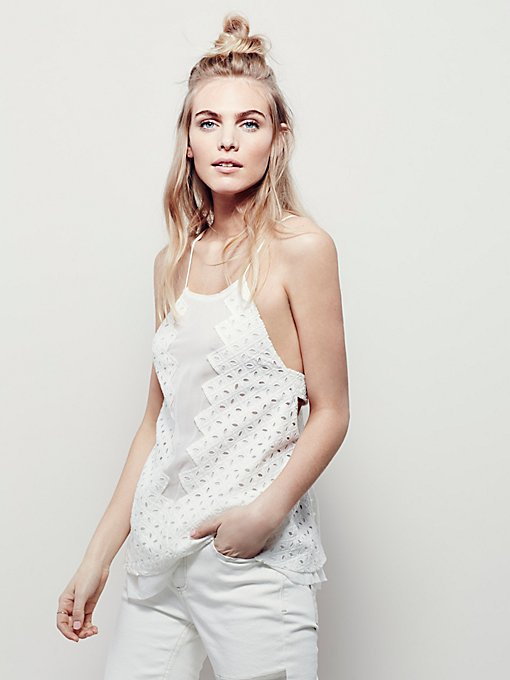 Every Little Thing Eyelet Top