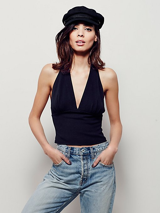 The One Halter Top