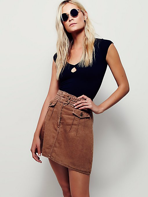 Braided Baby Mini Skirt