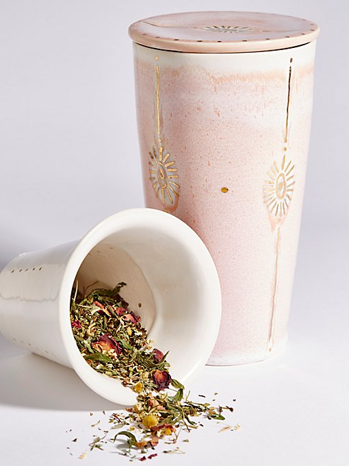 To Go Tea Steeping Mug