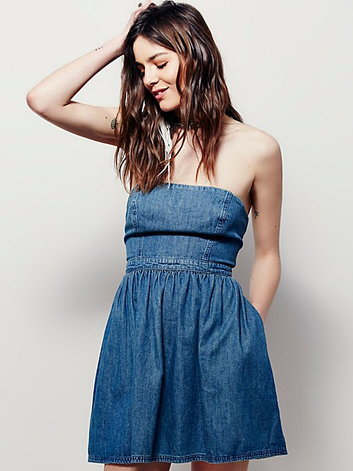 Darling Denim Mini Dress